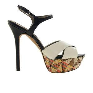 Sam Edelman Mason Platform Heels Size 7.5